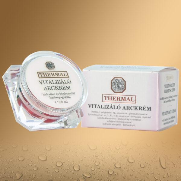 Thermal vitalizáló arckrém